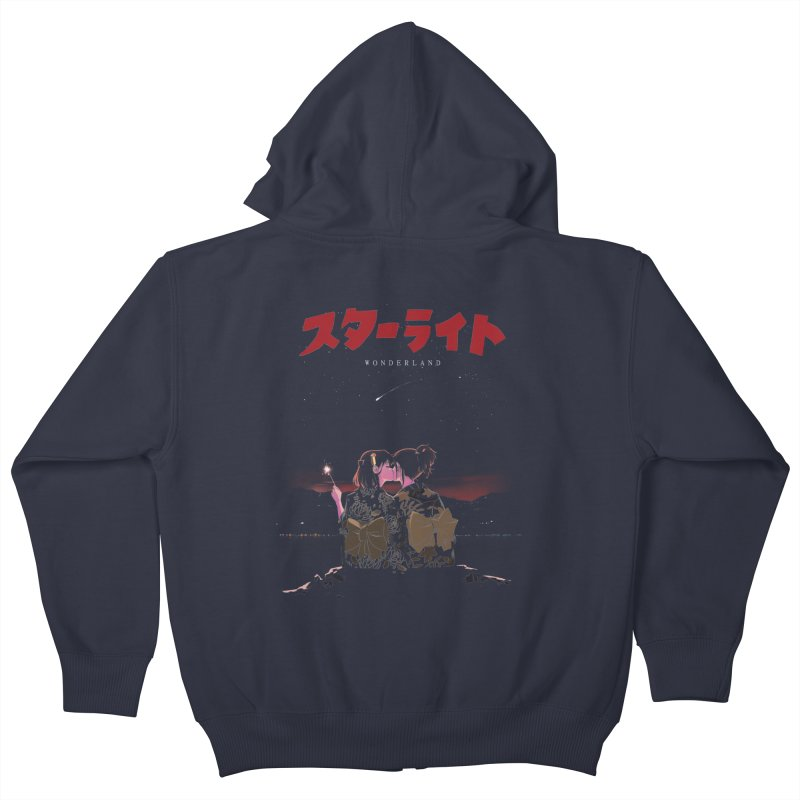 Starlight Kids Zip-Up Hoody by SPYKEEE's Artist Shop