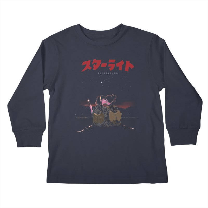 Starlight Kids Longsleeve T-Shirt by SPYKEEE's Artist Shop