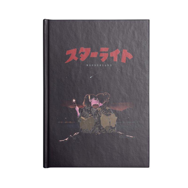 Starlight Accessories Blank Journal Notebook by SPYKEEE's Artist Shop
