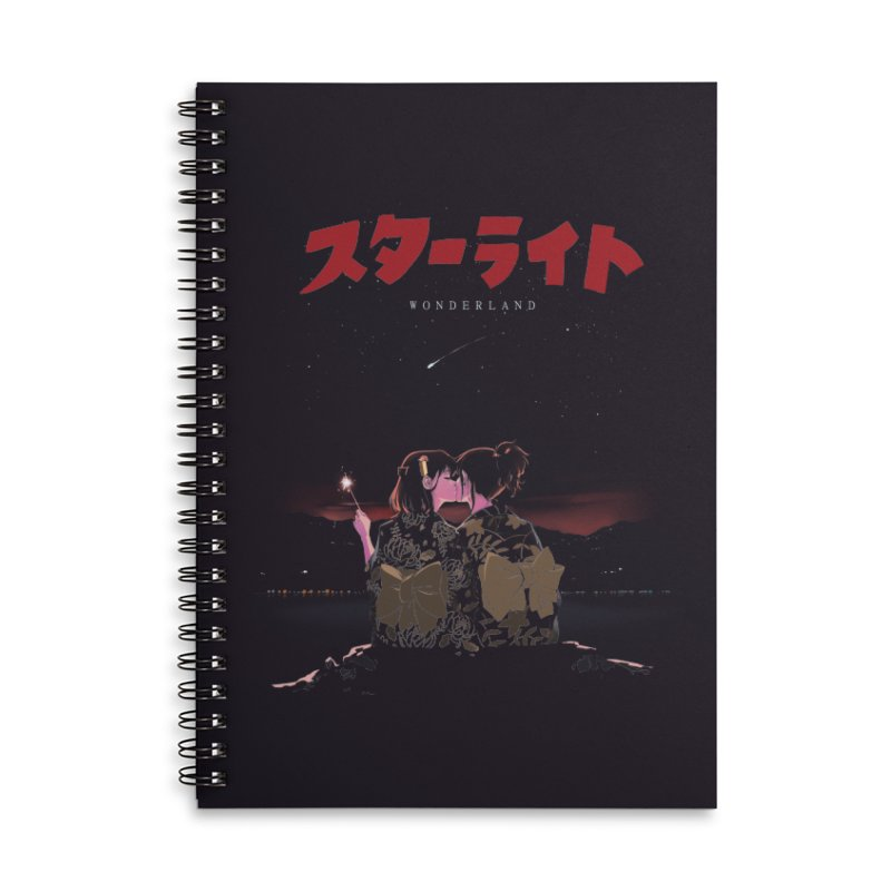 Starlight Accessories Lined Spiral Notebook by SPYKEEE's Artist Shop