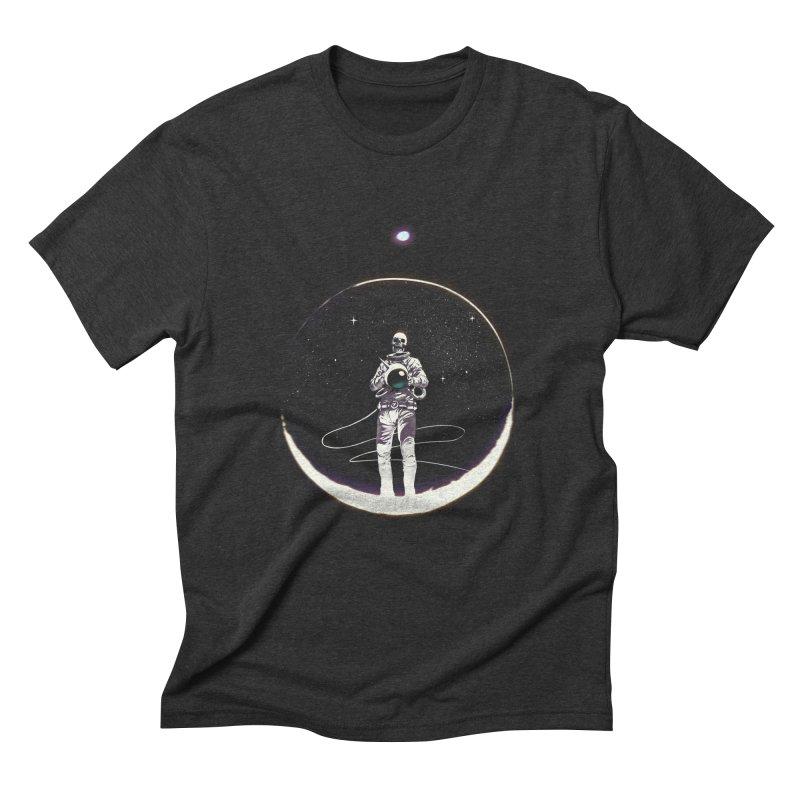 SPACE HEKOG Men's Triblend T-shirt by SPYKEEE's Artist Shop