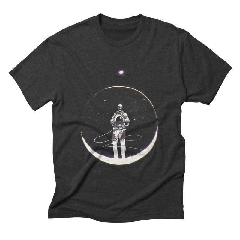 SPACE HEKOG Men's Triblend T-shirt by spykeee's Artist Shop