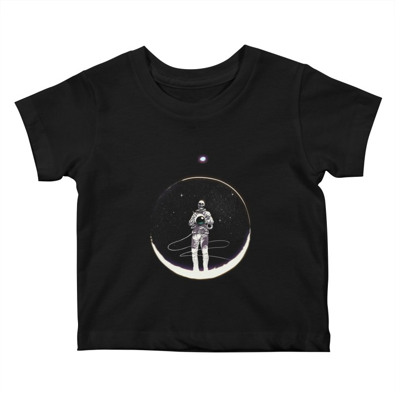 SPACE HEKOG Kids Baby T-Shirt by SPYKEEE's Artist Shop