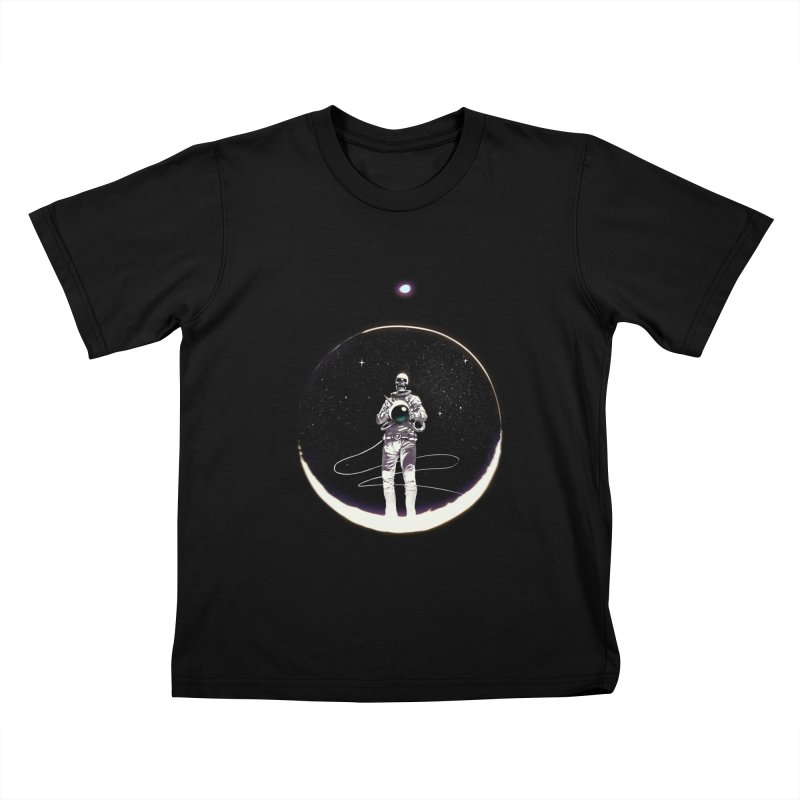 SPACE HEKOG Kids T-shirt by SPYKEEE's Artist Shop