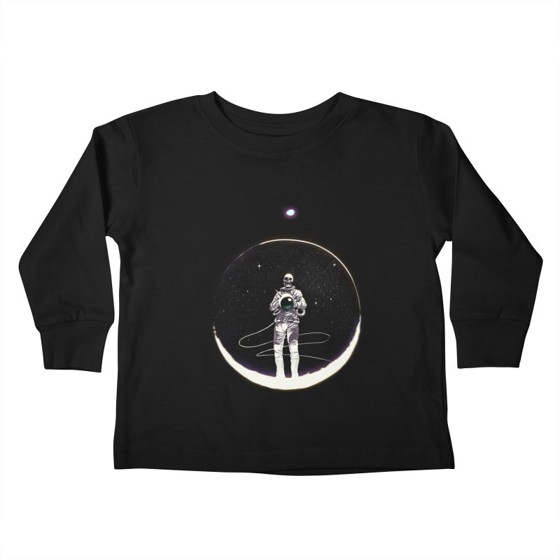 SPACE HEKOG Kids Toddler Longsleeve T-Shirt by SPYKEEE's Artist Shop