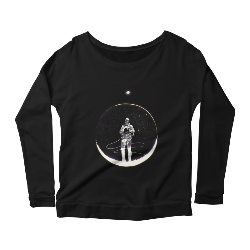 SPACE HEKOG Women's Longsleeve Scoopneck  by SPYKEEE's Artist Shop