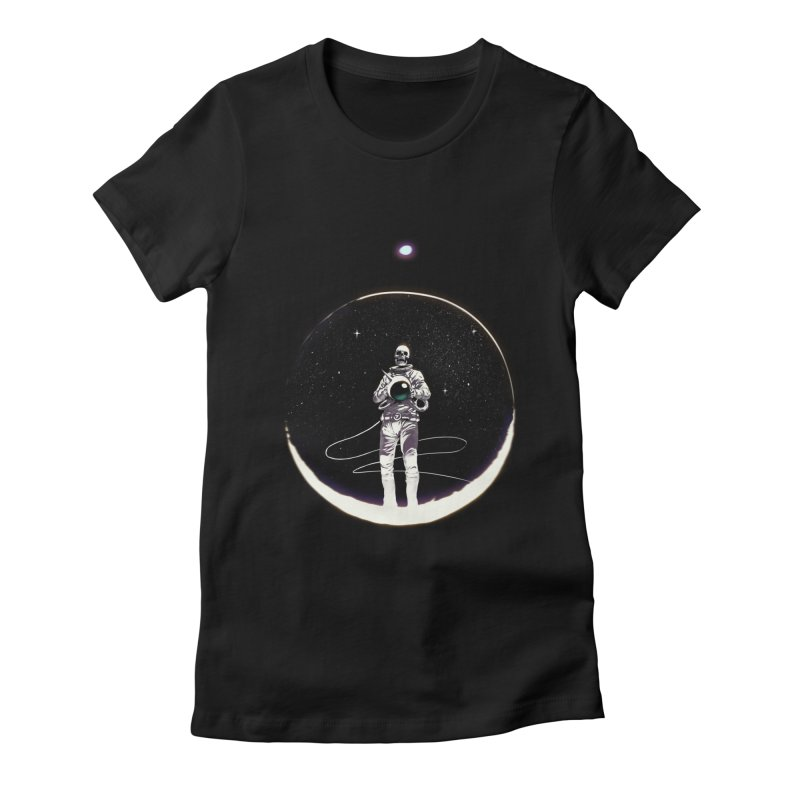 SPACE HEKOG Women's Fitted T-Shirt by SPYKEEE's Artist Shop