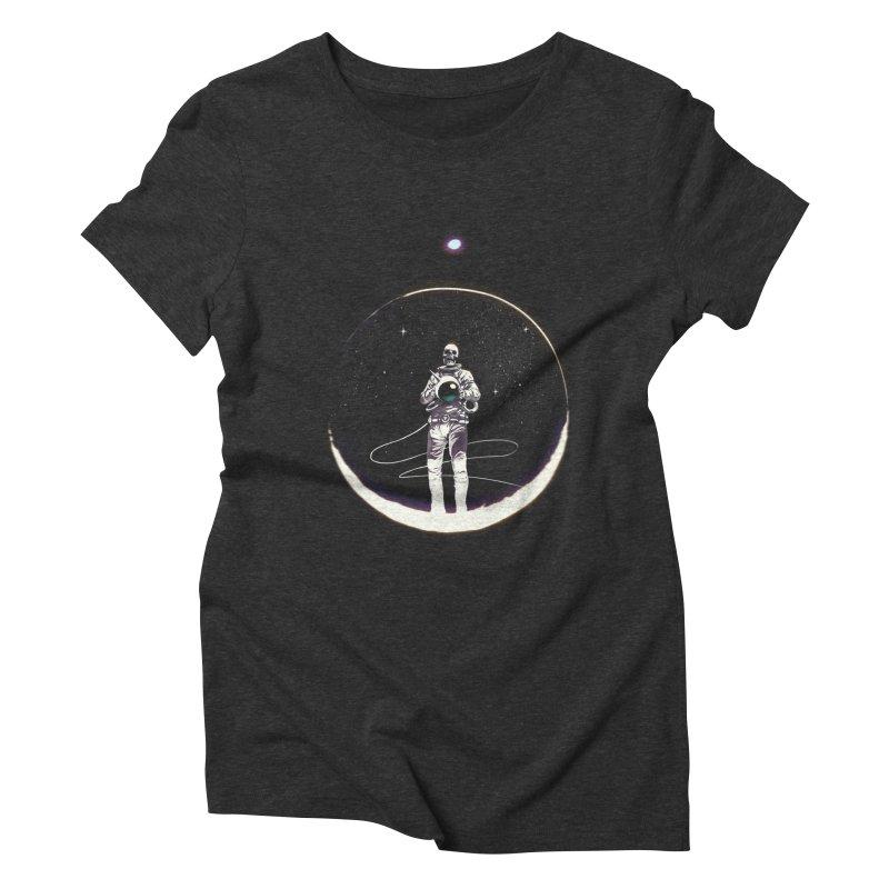 SPACE HEKOG Women's Triblend T-Shirt by SPYKEEE's Artist Shop
