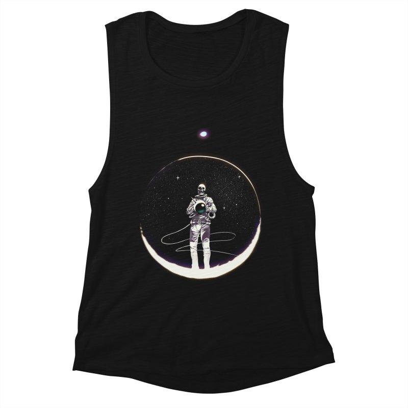 SPACE HEKOG Women's Muscle Tank by SPYKEEE's Artist Shop