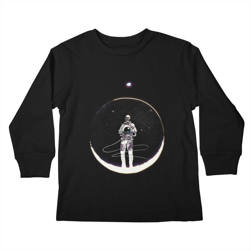 SPACE HEKOG Kids Longsleeve T-Shirt by SPYKEEE's Artist Shop