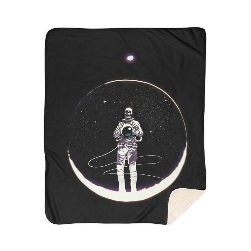 SPACE HEKOG Home Sherpa Blanket Blanket by SPYKEEE's Artist Shop