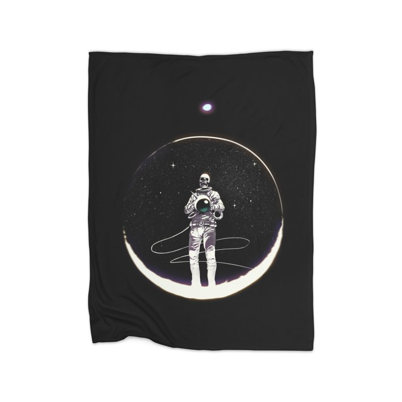 SPACE HEKOG Home Fleece Blanket Blanket by SPYKEEE's Artist Shop