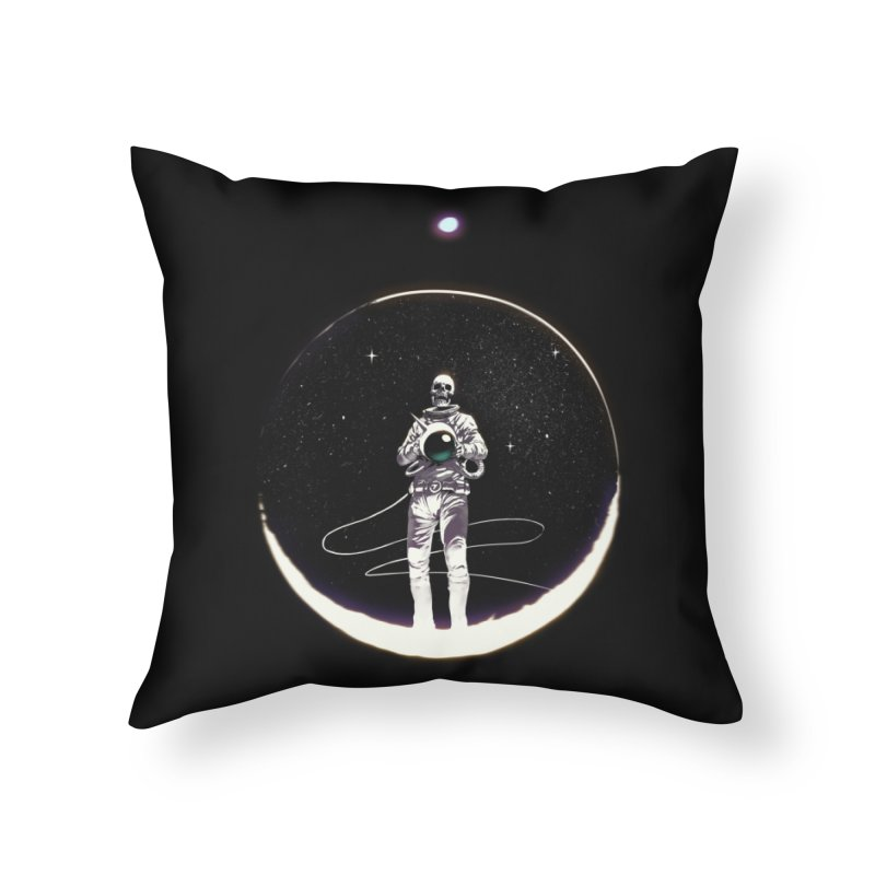 SPACE HEKOG Home Throw Pillow by spykeee's Artist Shop
