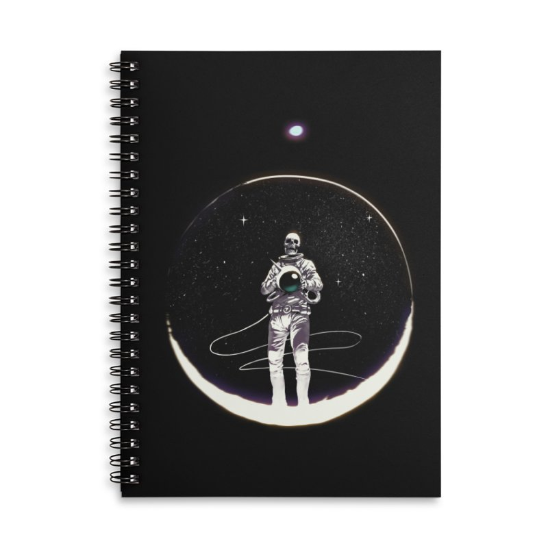 SPACE HEKOG Accessories Lined Spiral Notebook by SPYKEEE's Artist Shop