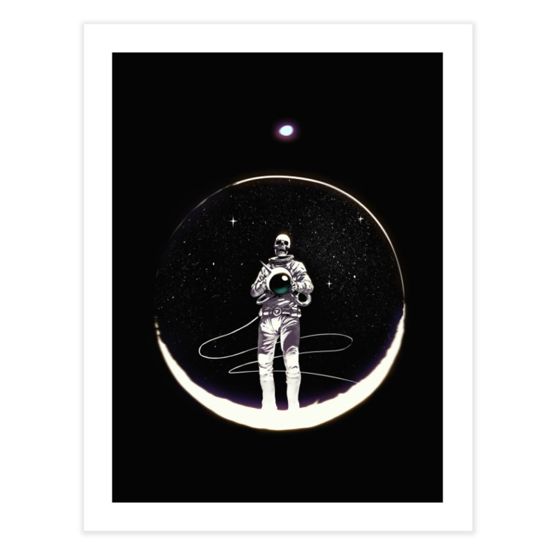 SPACE HEKOG Home Fine Art Print by SPYKEEE's Artist Shop