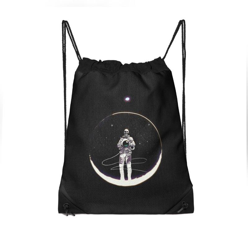 SPACE HEKOG Accessories Drawstring Bag Bag by SPYKEEE's Artist Shop