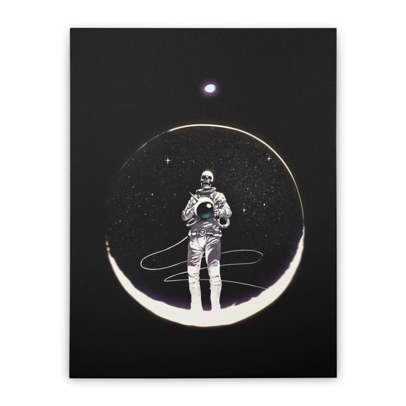 SPACE HEKOG Home Stretched Canvas by SPYKEEE's Artist Shop