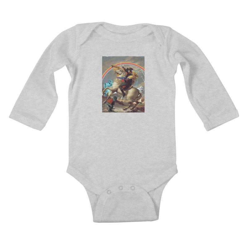 PIPE DREAM Kids Baby Longsleeve Bodysuit by SPYKEEE's Artist Shop