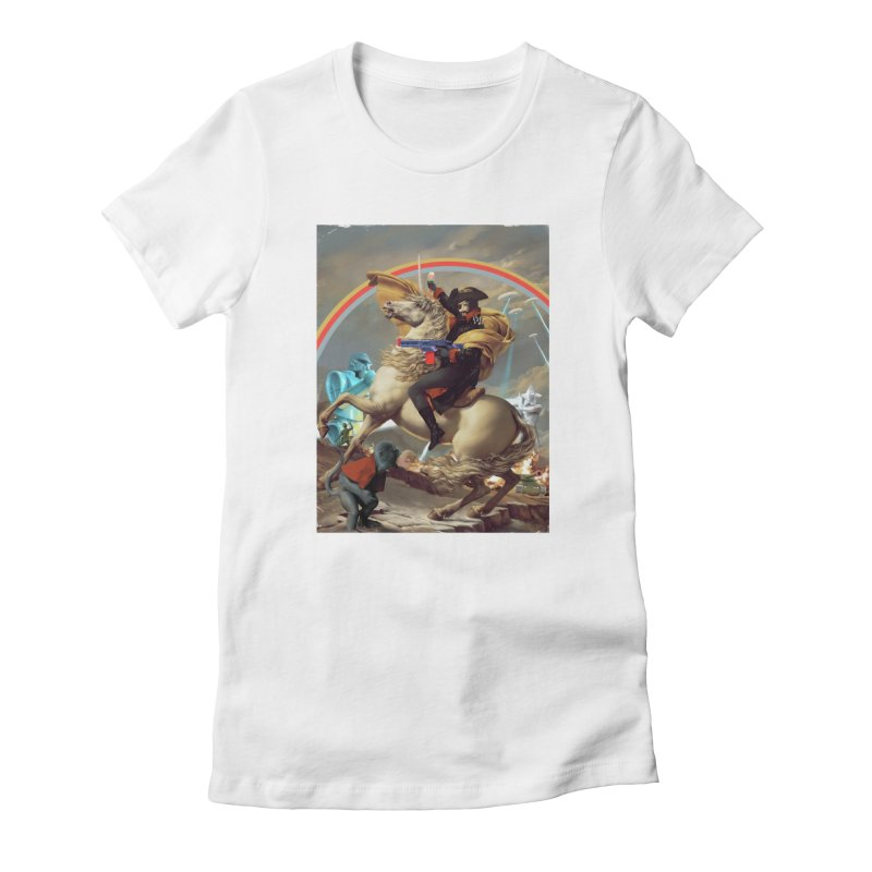 PIPE DREAM Women's Fitted T-Shirt by SPYKEEE's Artist Shop