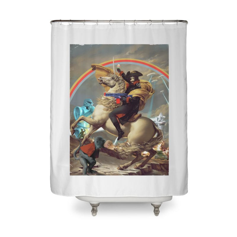 PIPE DREAM Home Shower Curtain by SPYKEEE's Artist Shop