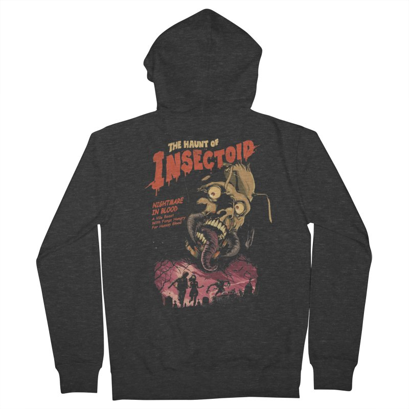 INSECTOID Women's French Terry Zip-Up Hoody by SPYKEEE's Artist Shop