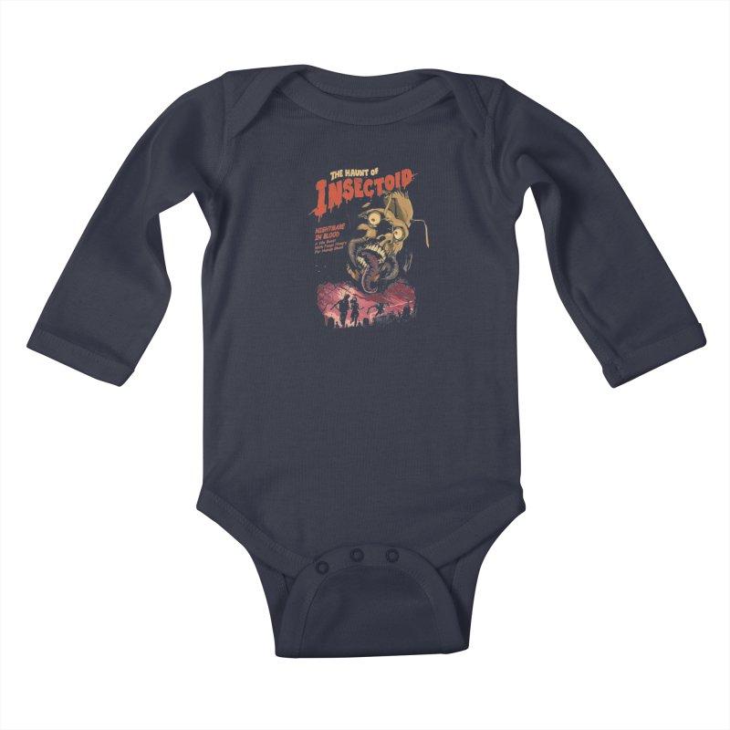 INSECTOID Kids Baby Longsleeve Bodysuit by SPYKEEE's Artist Shop