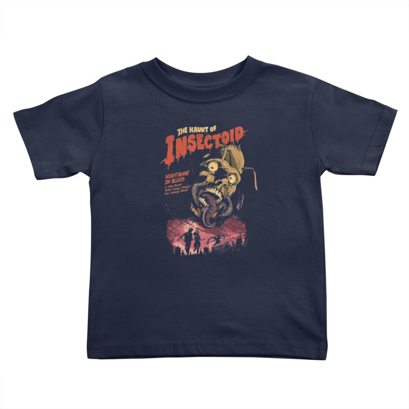 INSECTOID Kids Toddler T-Shirt by SPYKEEE's Artist Shop