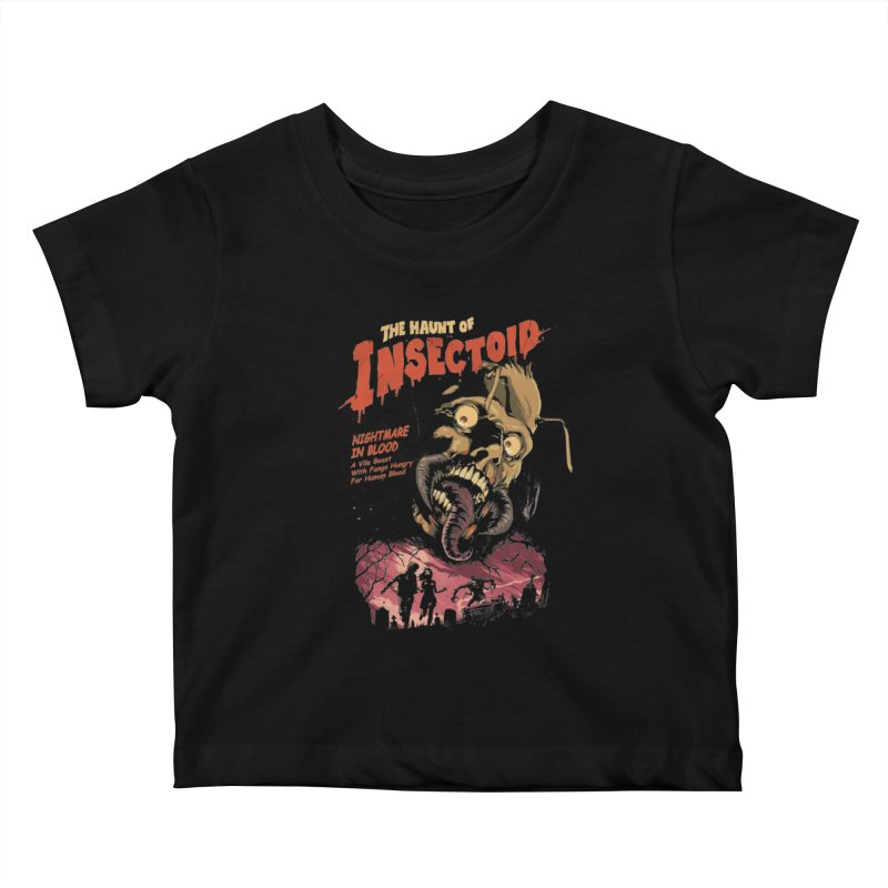 INSECTOID Kids Baby T-Shirt by SPYKEEE's Artist Shop