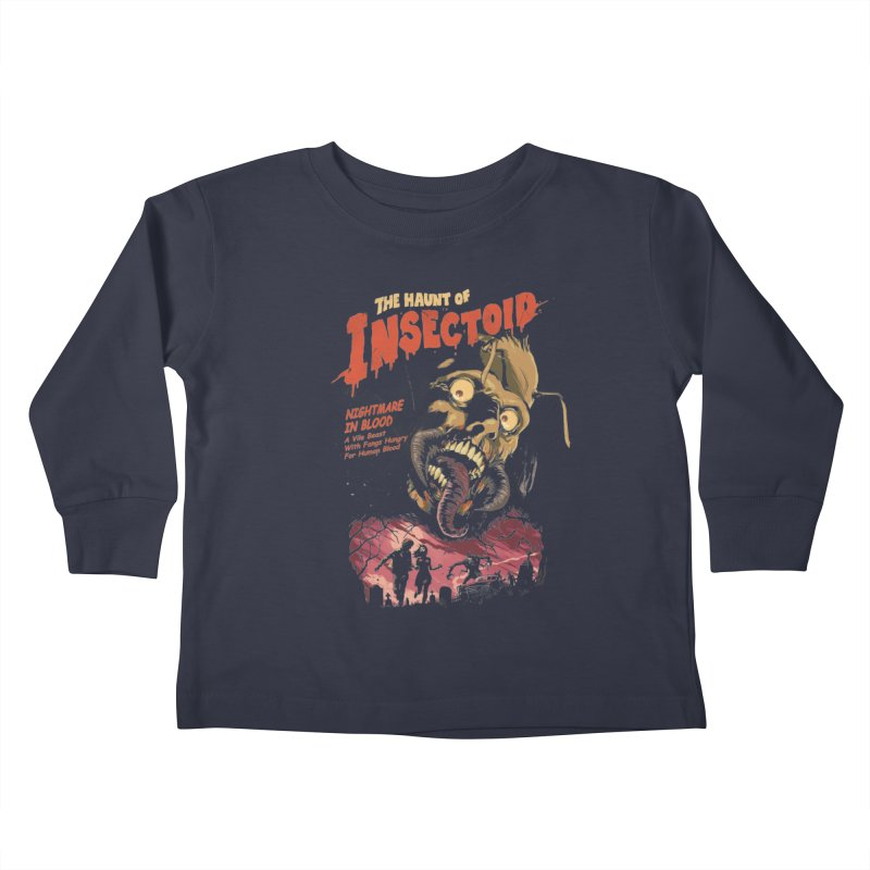 INSECTOID Kids Toddler Longsleeve T-Shirt by SPYKEEE's Artist Shop