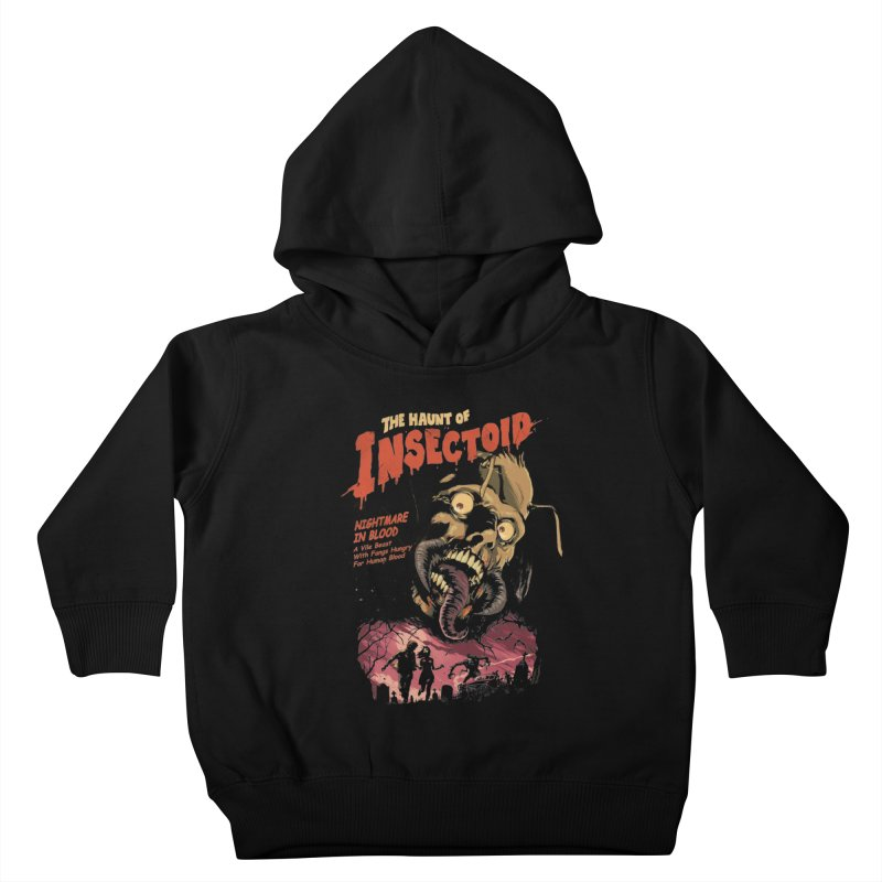 INSECTOID Kids Toddler Pullover Hoody by SPYKEEE's Artist Shop