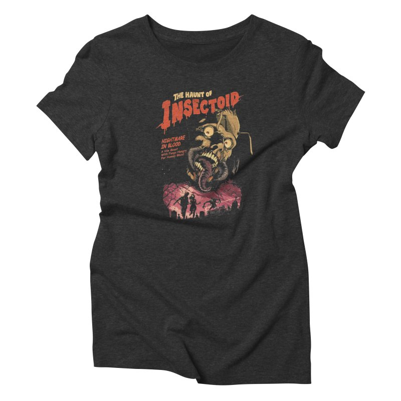 INSECTOID Women's T-Shirt by SPYKEEE's Artist Shop