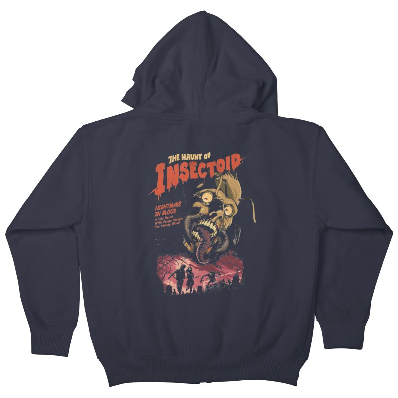 INSECTOID Kids Zip-Up Hoody by SPYKEEE's Artist Shop