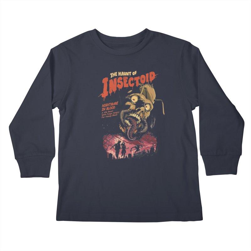 INSECTOID Kids Longsleeve T-Shirt by SPYKEEE's Artist Shop