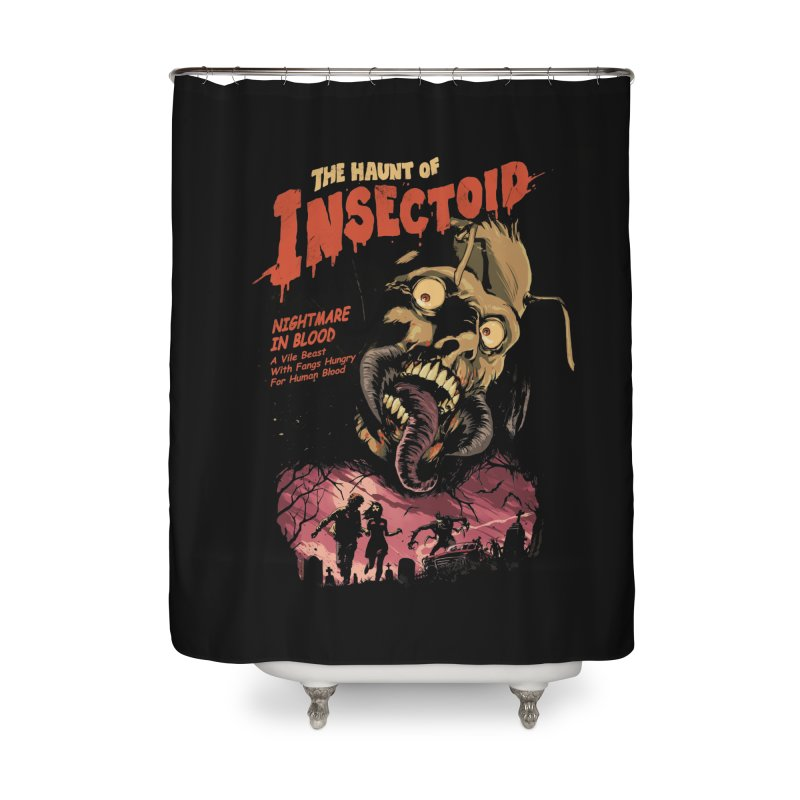 INSECTOID Home Shower Curtain by SPYKEEE's Artist Shop