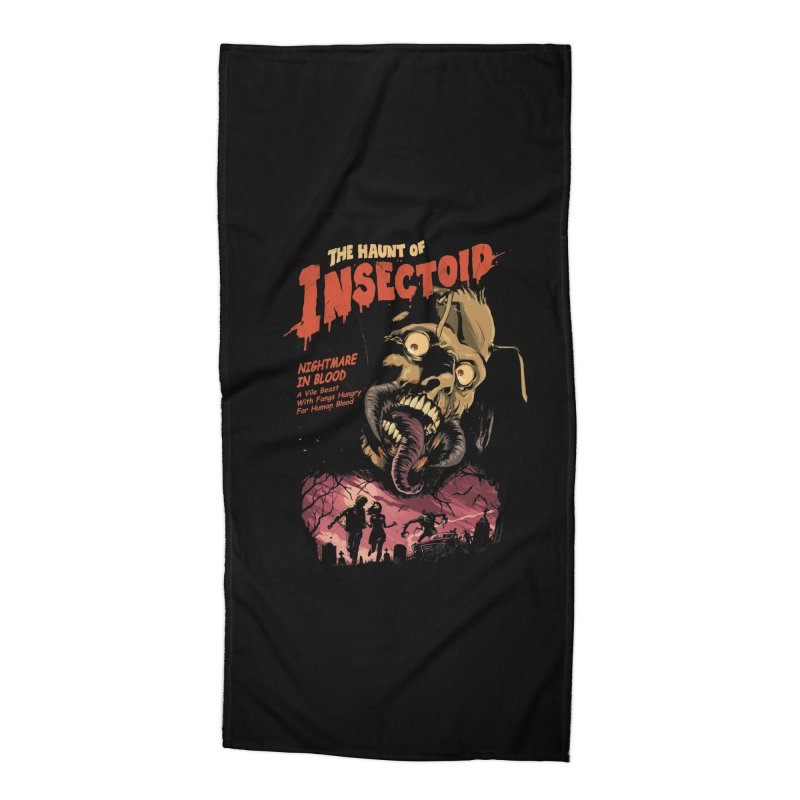 INSECTOID Accessories Beach Towel by SPYKEEE's Artist Shop