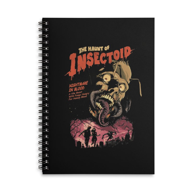 INSECTOID Accessories Lined Spiral Notebook by SPYKEEE's Artist Shop