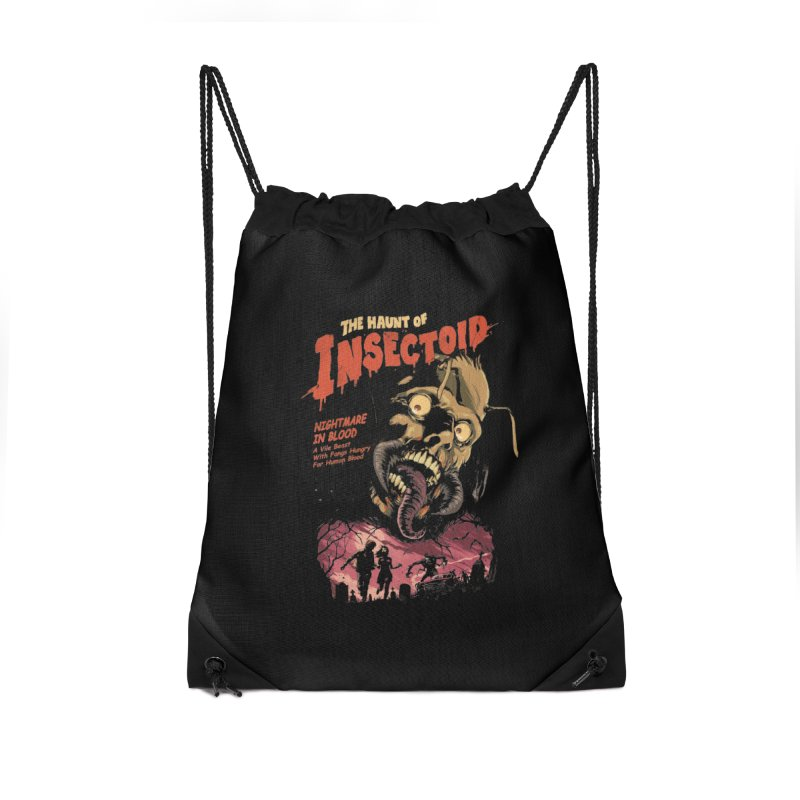 INSECTOID Accessories Drawstring Bag Bag by SPYKEEE's Artist Shop