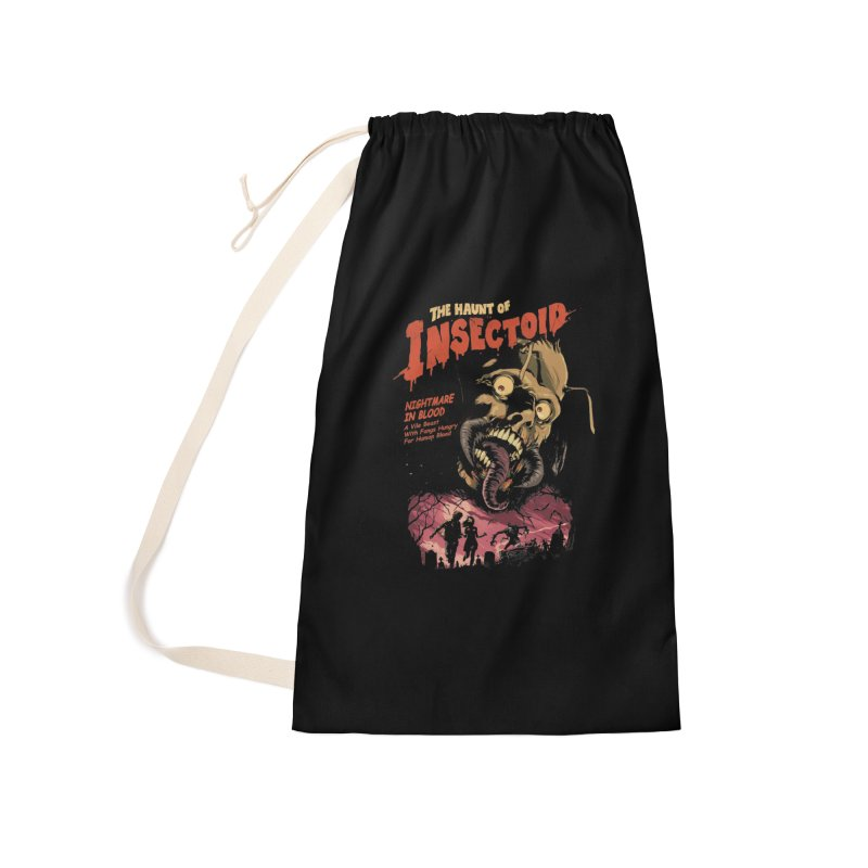 INSECTOID Accessories Laundry Bag Bag by SPYKEEE's Artist Shop