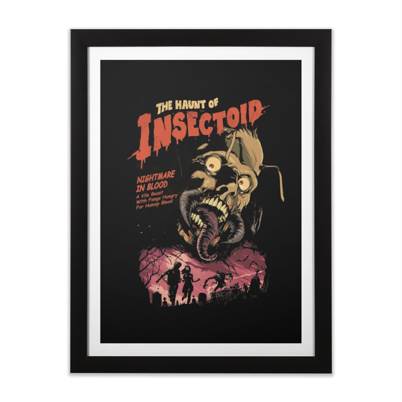 INSECTOID Home Framed Fine Art Print by SPYKEEE's Artist Shop