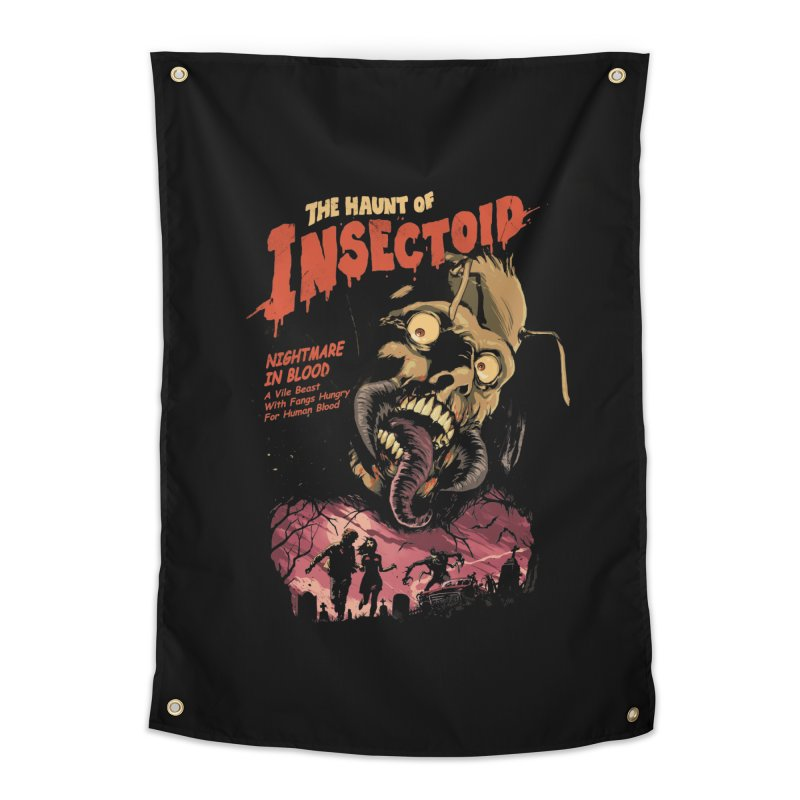 INSECTOID Home Tapestry by SPYKEEE's Artist Shop