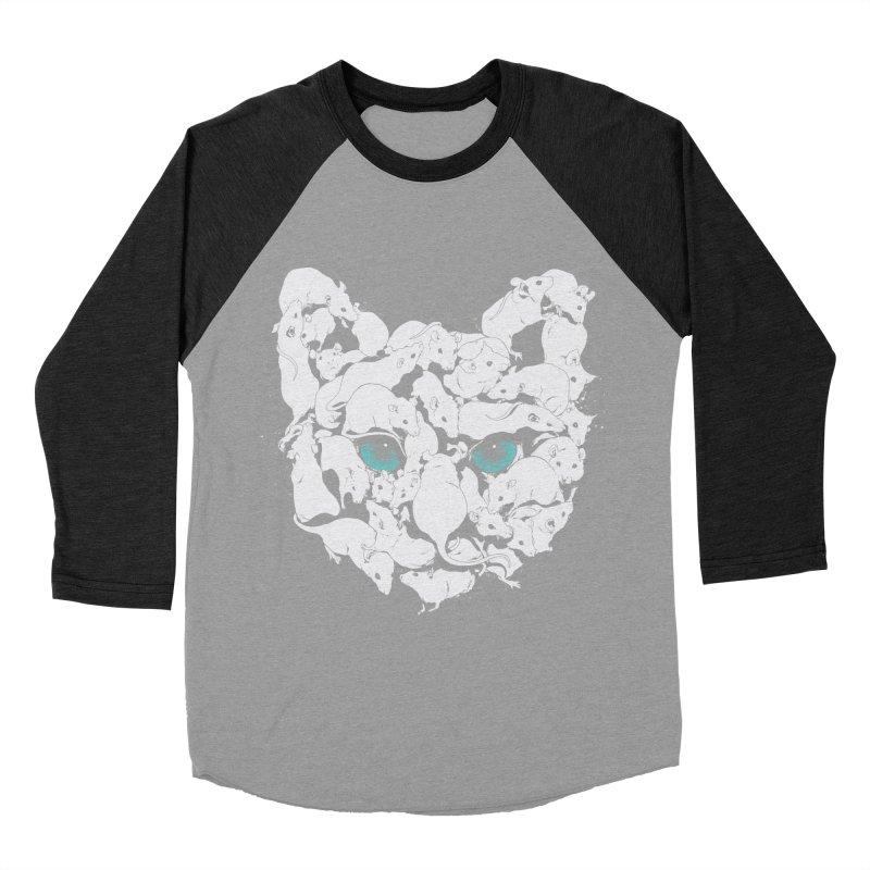 PUSSYRAT Men's Baseball Triblend T-Shirt by SPYKEEE's Artist Shop