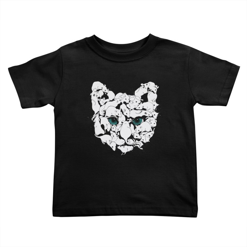 PUSSYRAT Kids Toddler T-Shirt by SPYKEEE's Artist Shop