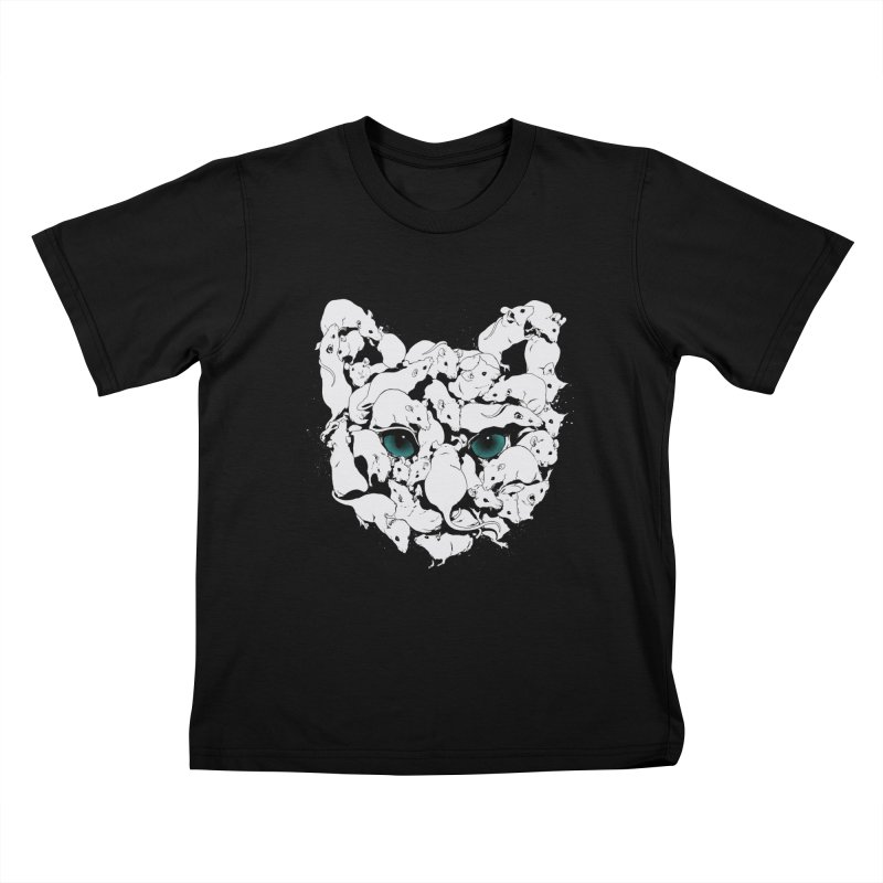 PUSSYRAT Kids T-Shirt by SPYKEEE's Artist Shop