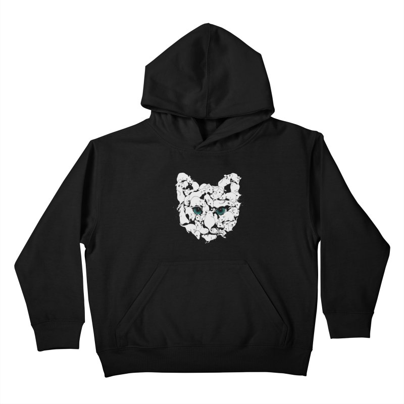 PUSSYRAT Kids Pullover Hoody by SPYKEEE's Artist Shop
