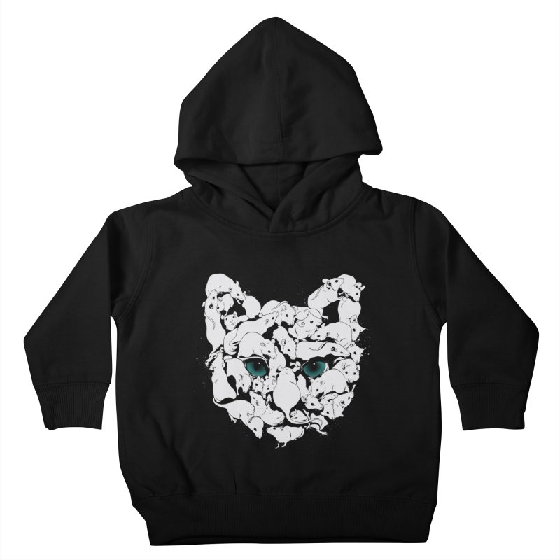 PUSSYRAT Kids Toddler Pullover Hoody by SPYKEEE's Artist Shop
