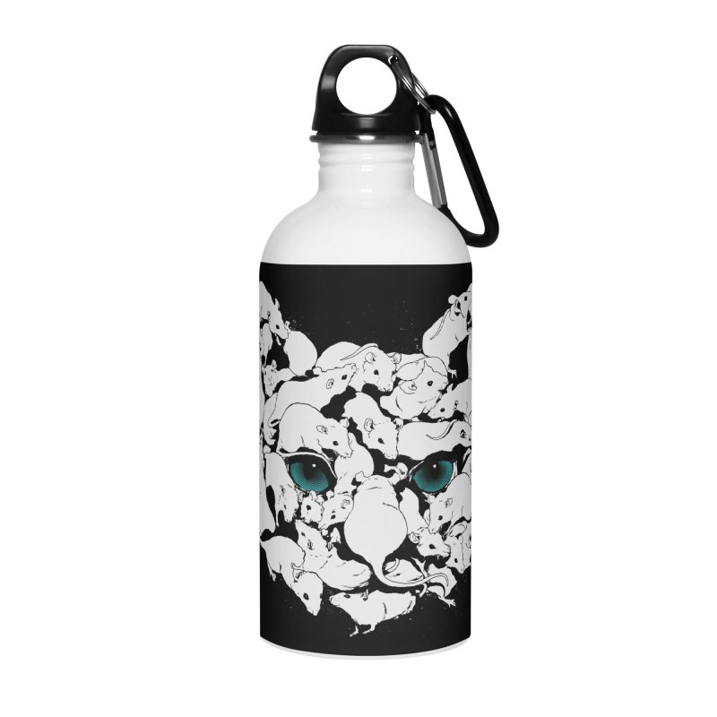 PUSSYRAT Accessories Water Bottle by SPYKEEE's Artist Shop