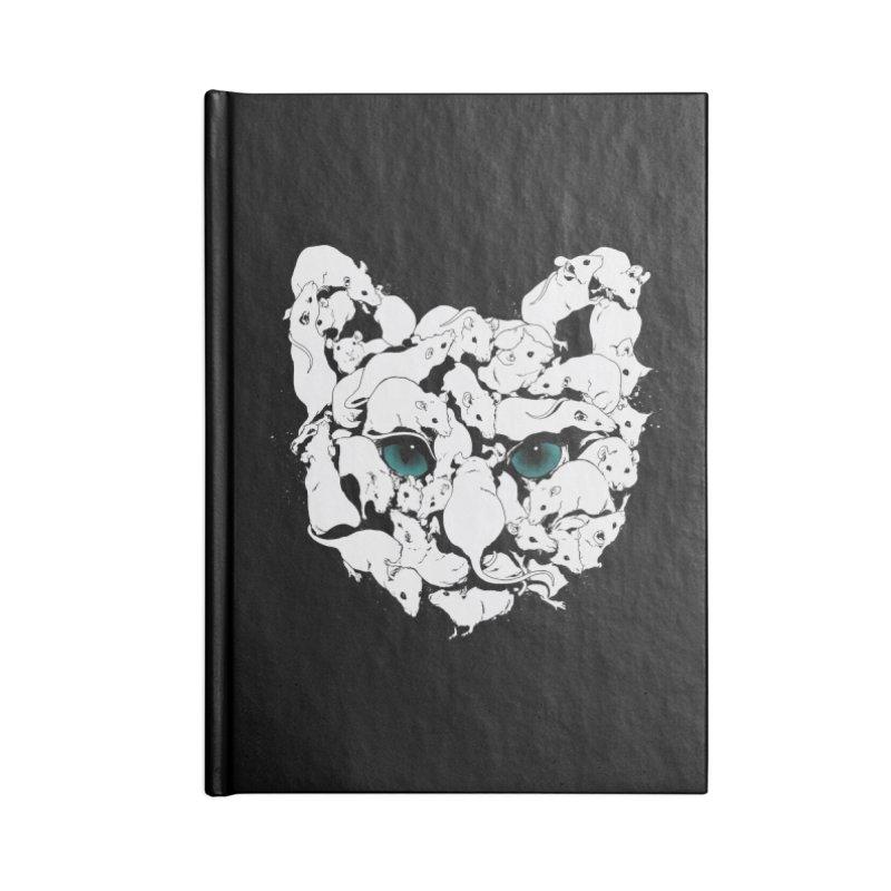 PUSSYRAT Accessories Blank Journal Notebook by SPYKEEE's Artist Shop