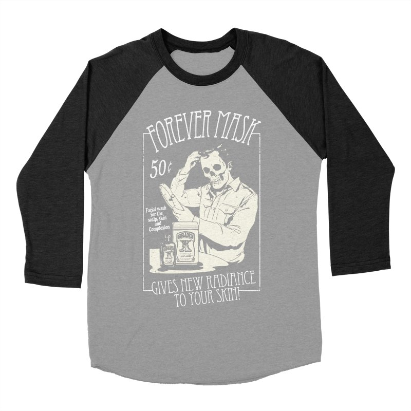 Facial Wash Men's Baseball Triblend Longsleeve T-Shirt by SPYKEEE's Artist Shop
