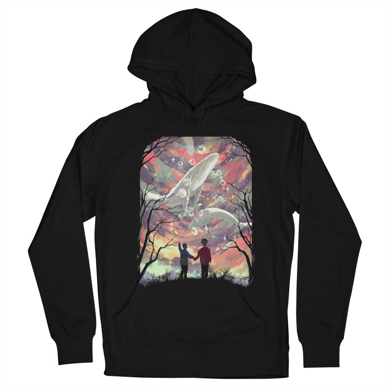 BALYENA Men's French Terry Pullover Hoody by SPYKEEE's Artist Shop