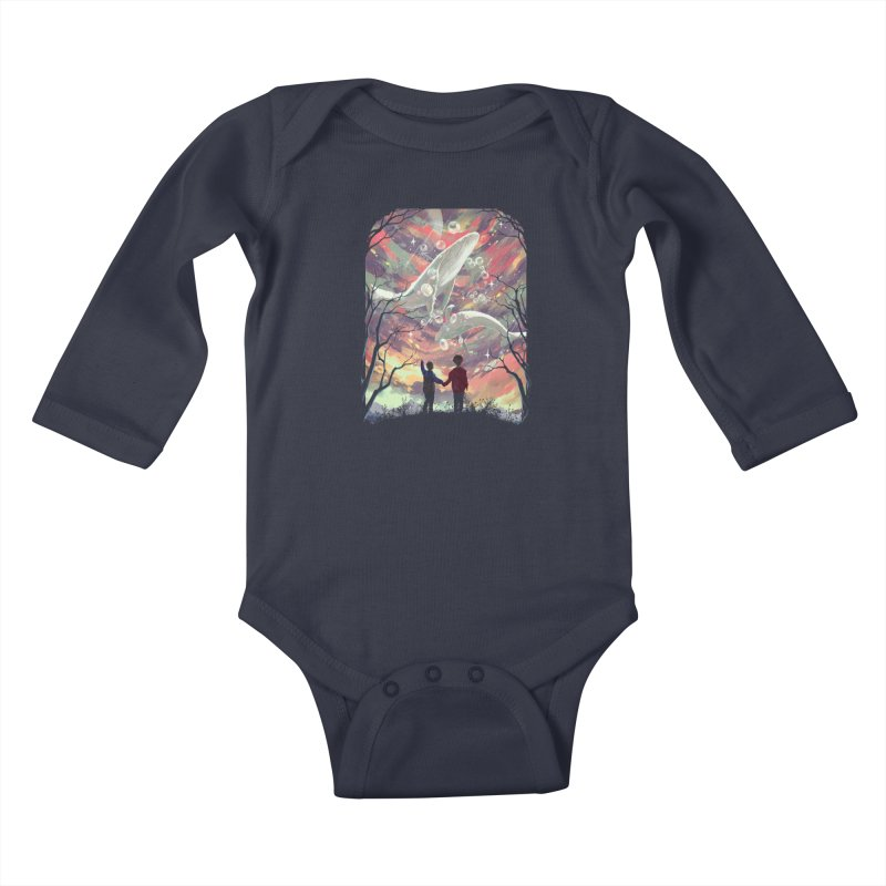 BALYENA Kids Baby Longsleeve Bodysuit by SPYKEEE's Artist Shop
